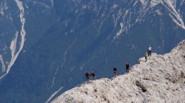 Sommer Präsentationsbild Bergführer Dolomiti SkiRock