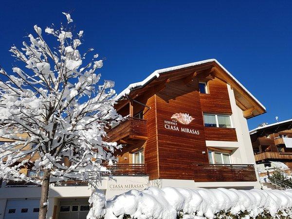 Foto invernale di presentazione Mirasas - Residence 3 stelle