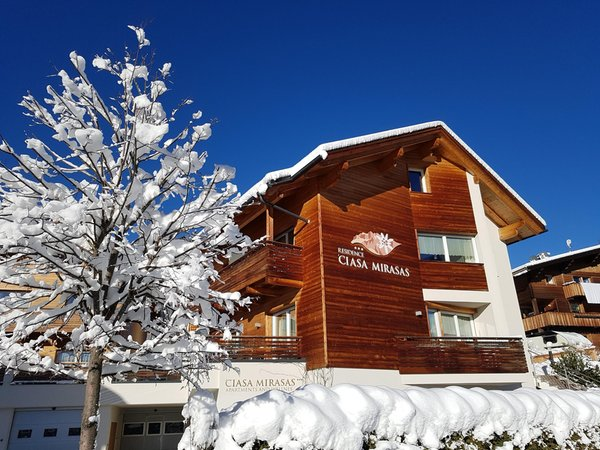 Winter presentation photo Residence Mirasas