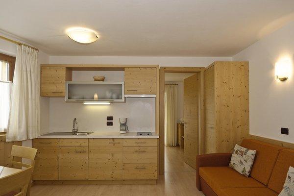 La zona giorno Mirasas - Residence 3 stelle