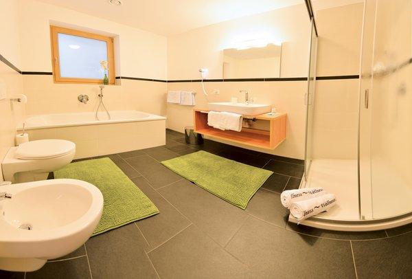 Foto del bagno Residence Fuchsmaurer