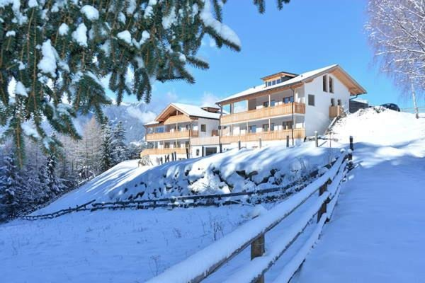 Foto invernale di presentazione Residence Fuchsmaurer
