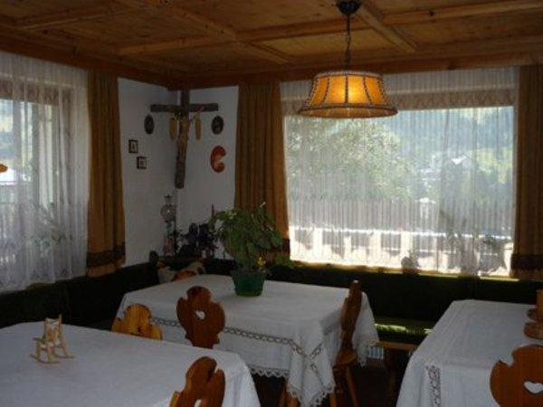 Die Gemeinschaftsräume B&B + Ferienwohnungen Scoiattolo