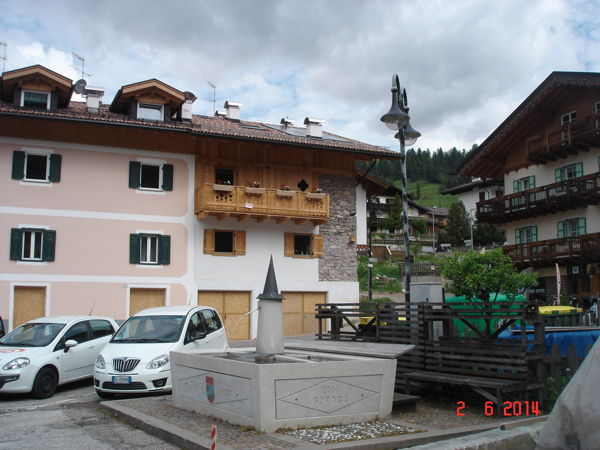 La posizione Appartamenti Pederiva Sara Soraga