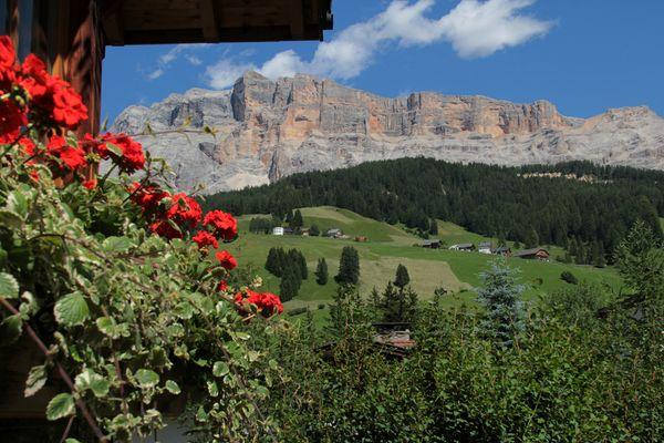 Aussicht Badia - Pedraces
