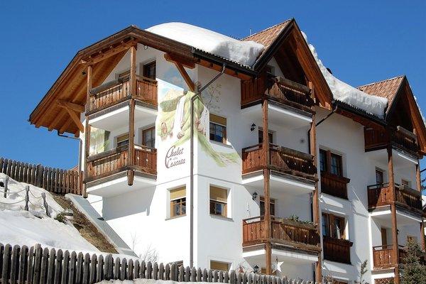 Foto invernale di presentazione Chalet Alla Cascata - Appartamenti 4 soli