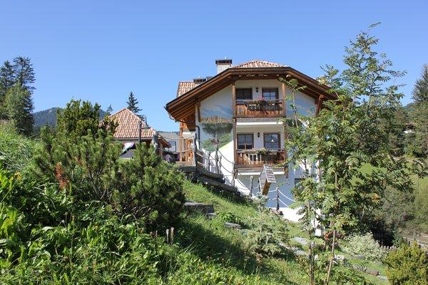 Foto Außenansicht im Sommer Chalet Alla Cascata