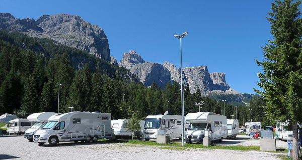 Photo exteriors Campsite Colfosco Corvara