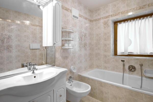 Foto del bagno Appartamenti Ciasa Laói