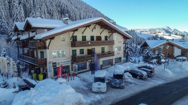 Photo exteriors in winter Top Ski School Val Gardena