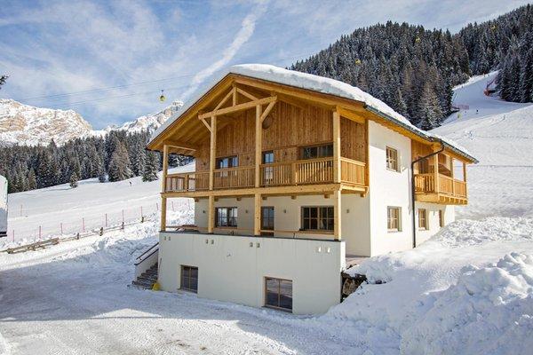 Foto invernale di presentazione Appartamenti Prè Calalt