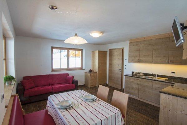 The living area Apartments Prè Calalt