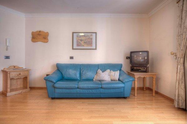 La zona giorno Ciasa Milandura - Appartamenti 3 soli