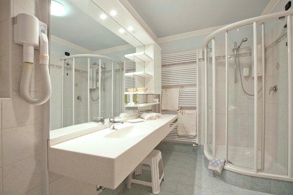 Foto del bagno Appartamenti Ciasa Milandura