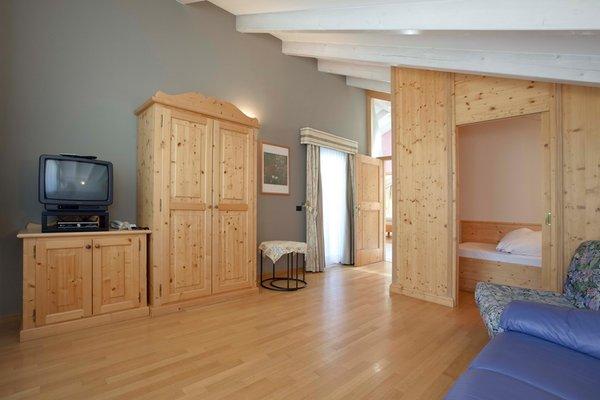 Der Wohnraum Ciasa Milandura - Ferienwohnungen 3 Sonnen