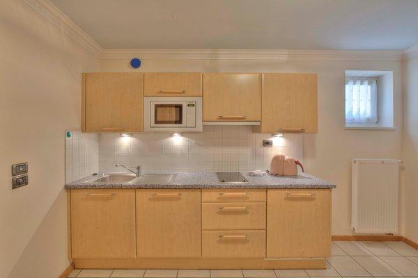 Foto der Küche Ciasa Milandura