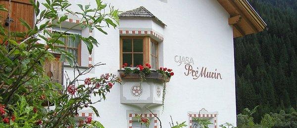 Foto esterno in estate Ciasa Pré Murin