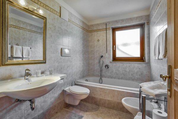 Foto del bagno Appartamenti Ciasa Pré Murin