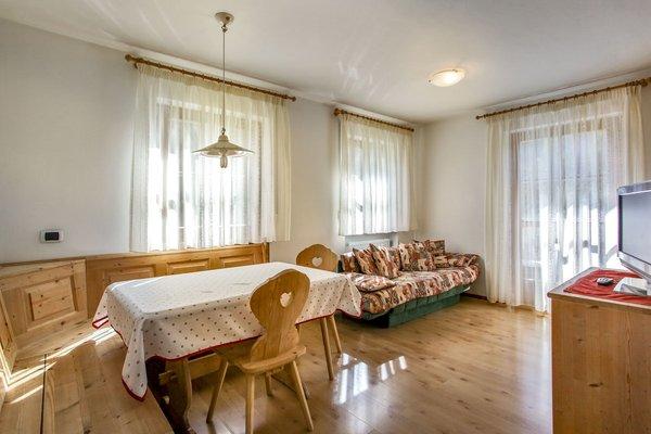 La zona giorno Ciasa Pré Murin - Appartamenti 3 soli