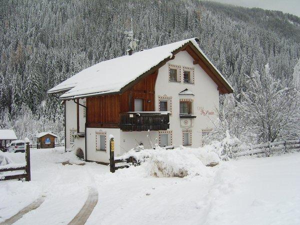 Foto invernale di presentazione Ciasa Pré Murin - Appartamenti 3 soli