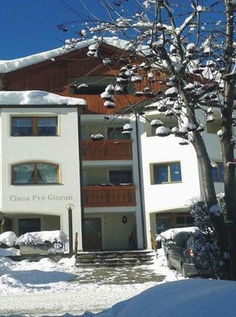 Winter presentation photo Apartments Ciasa Pré Giaron