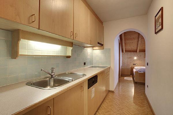Photo of the kitchen Ciasa Pré Giaron