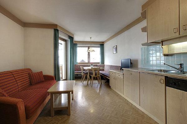 The living area Apartments Ciasa Pré Giaron
