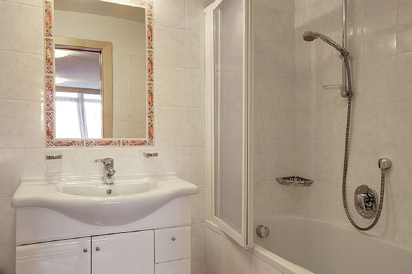 Photo of the bathroom Apartments Ciasa Pré Giaron