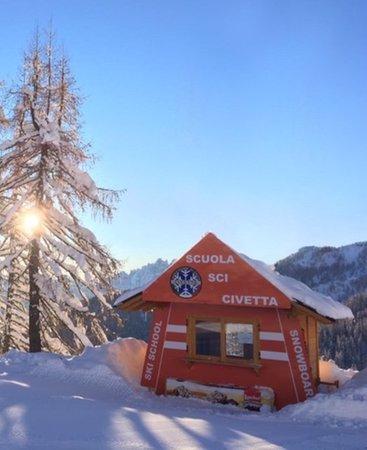 Foto Außenansicht im Winter Civetta