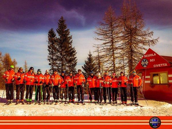 Präsentationsbild Italienische Skischule Civetta