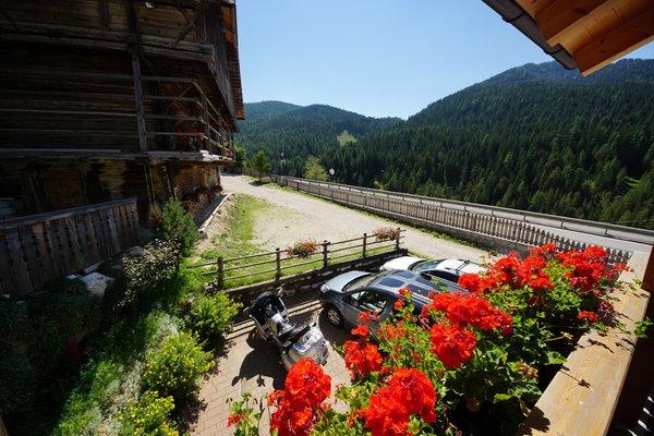 Der Parkplatz Ferienwohnungen Ciasari