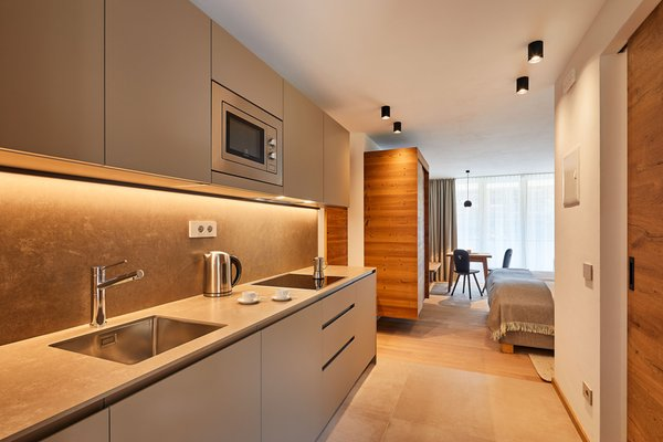 Photo of the kitchen Apartments Les Contrades