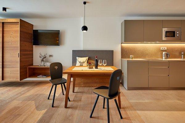 Foto della cucina Apartments Les Contrades