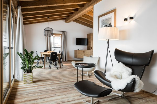 The living area Apartments Les Contrades