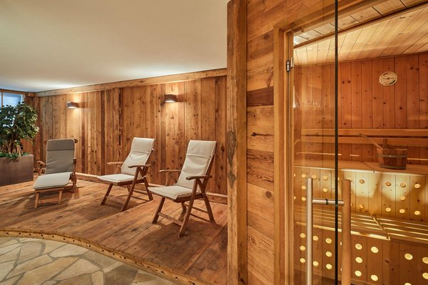 Photo of the wellness area Apartments Les Contrades