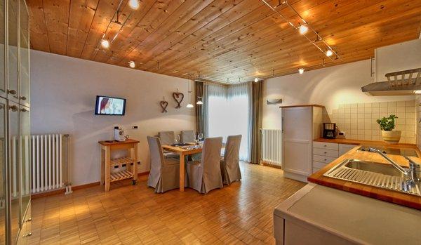 Foto della cucina La Bercia Dolomites Chalet