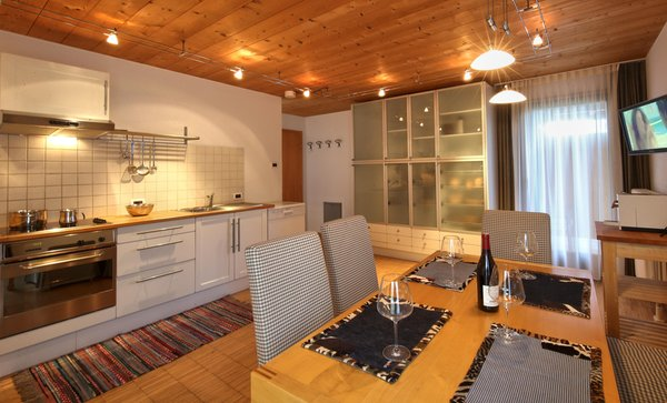 Photo of the kitchen La Bercia Dolomites Chalet