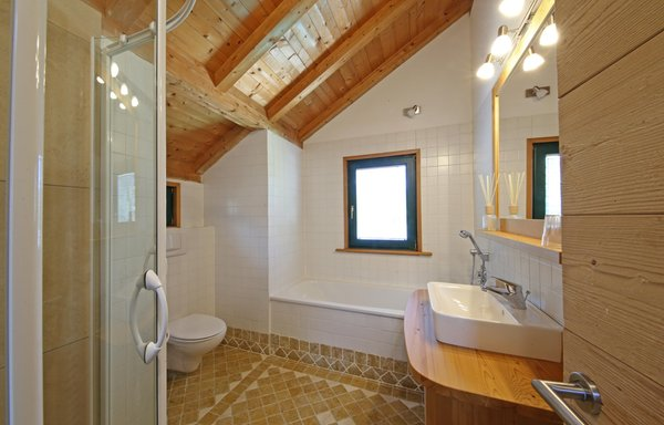 Photo of the bathroom La Bercia Dolomites Chalet