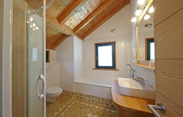 Foto del bagno La Bercia Dolomites Chalet