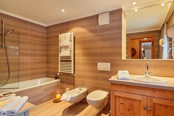 Foto del bagno Appartamenti La Sajun e Les Viles