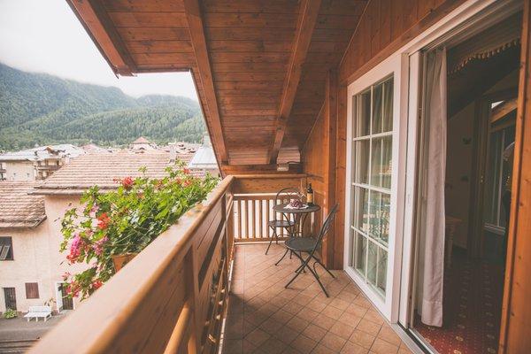 Foto del balcone Albergo Dimaro