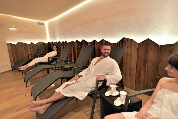 Photo of the wellness area Alphotel Dolomiti