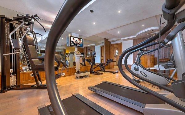 Foto della zona fitness AlpHotel Taller Wellness & Sport