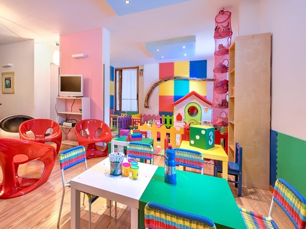 The children's play room Hotel Folgarida