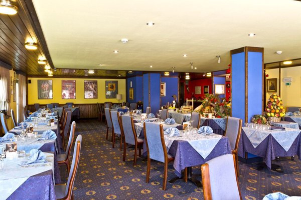 Il ristorante Folgarida Gran Baita