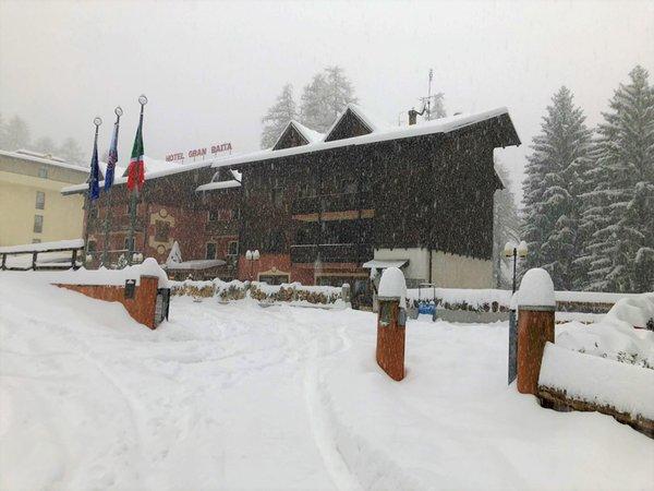 Foto invernale di presentazione Gran Baita - Hotel 3 stelle