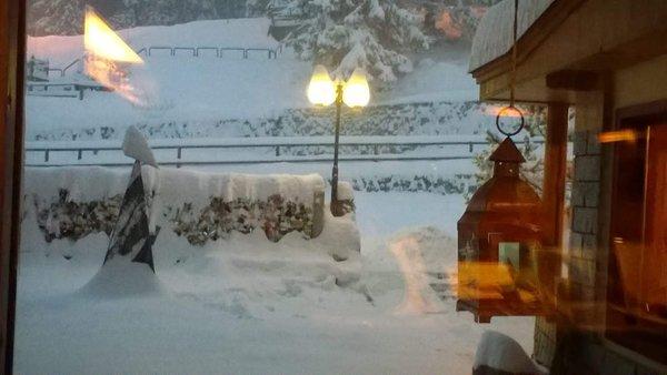 Foto esterno in inverno Gran Baita