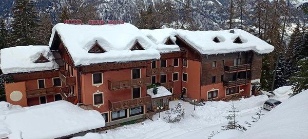 Foto invernale di presentazione Hotel Gran Baita