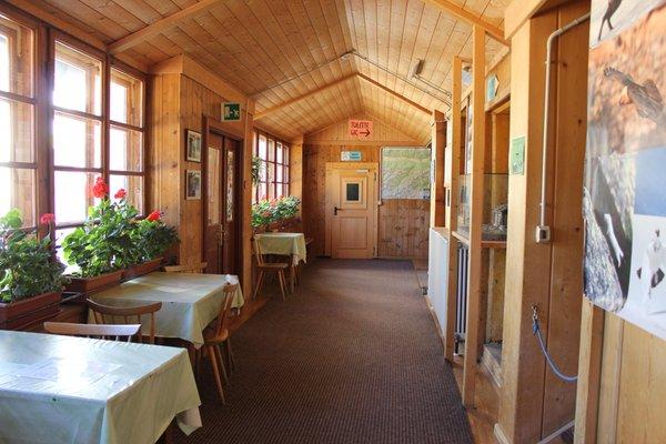 Das Restaurant Martelltal Rifugio Nino Corsi / Zufallhütte