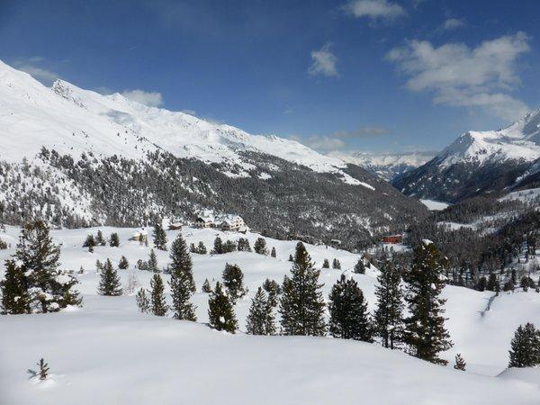 Lage Rifugio Nino Corsi / Zufallhütte Martelltal